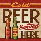Cold Beer Served Here