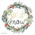 Let It Snow Wreath -  Seven Trees Design