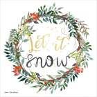 Let It Snow Wreath -  Seven Trees Design