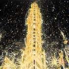 Abstract Flatiron Building