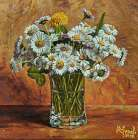 White Daisies in Vase - Peter Ziman