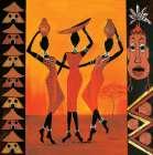 African Girls II - Izabella Dahlke