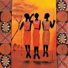 African Girls III - Izabella Dahlke