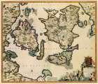 Baltic Isles Denmark - De Wit 1680