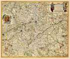 Benelux Hainaut Province Belgium - Visscher 1681