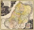 Judea Palestine Holy Land Israel - Homann 1744