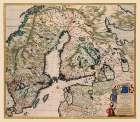Scandinavia - De Wit 1688