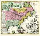Eastern United States - Seutter 1734