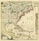 Amerique Septentrionale - Popple 1733