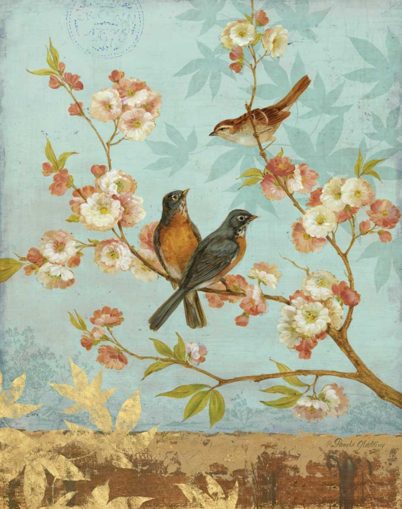 Robins and Blooms