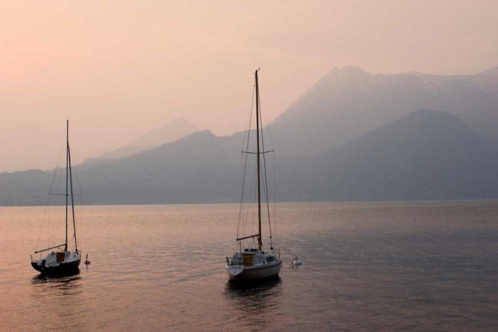 Lake Como Sailboats III