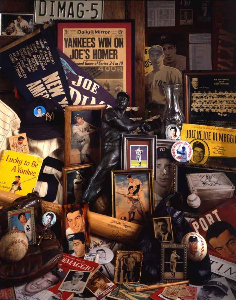 Joe DiMaggio Mementos