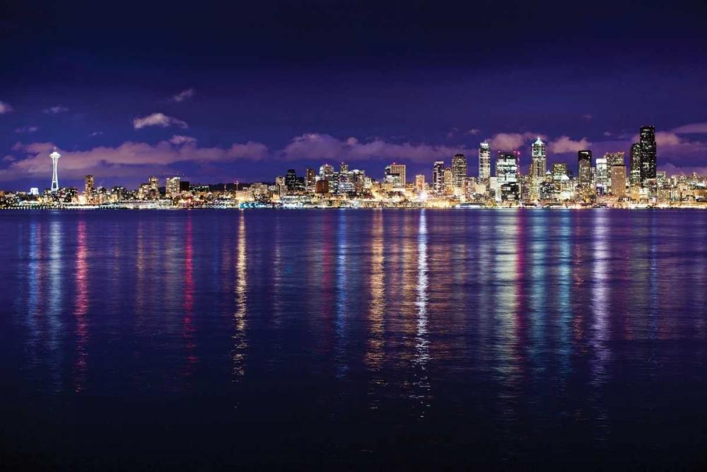 Seattle Skyline I