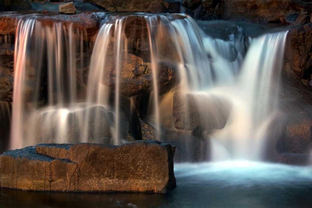 Sunset Waterfall I