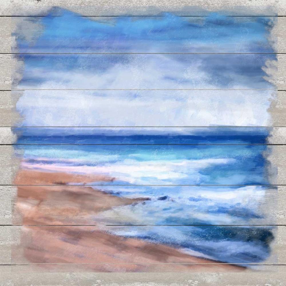 Beach High Tide
