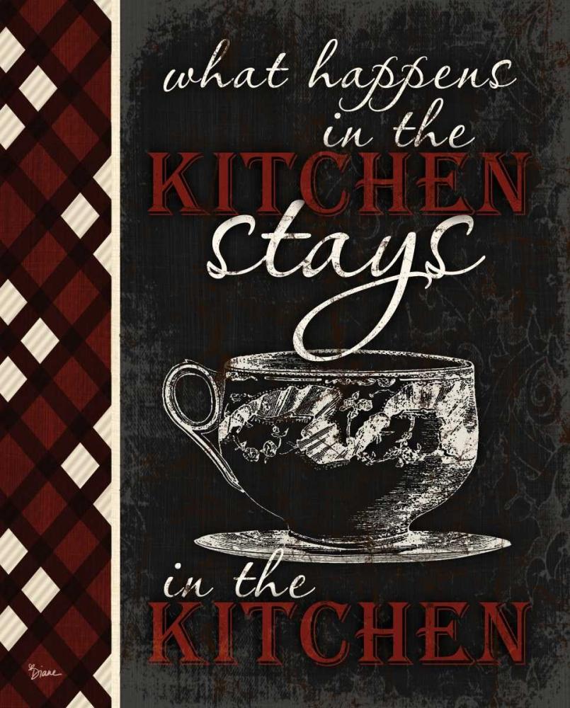 Stays In Kitchen