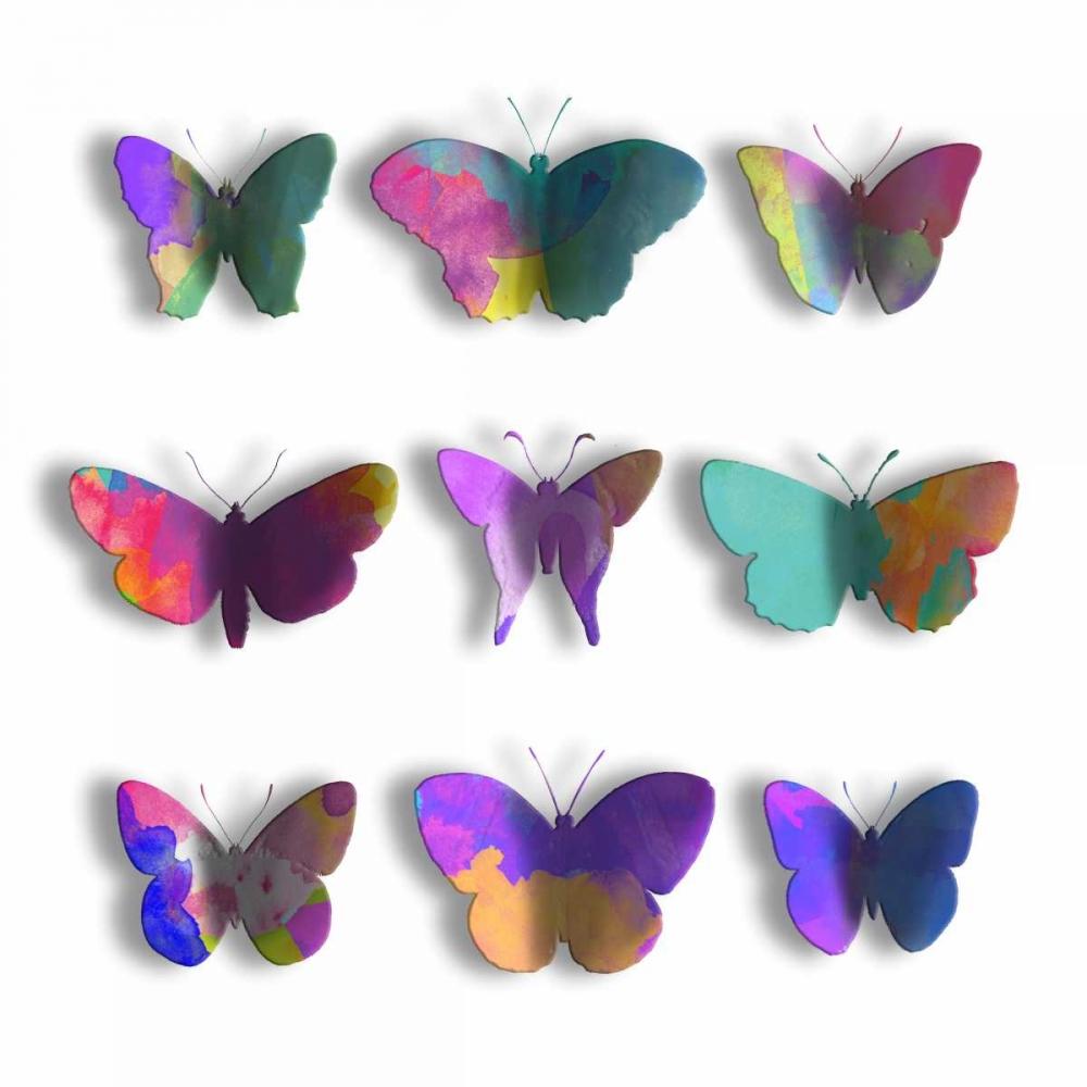 Watercolor Butterfly Pop Mate