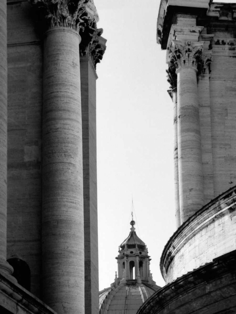 Vatican Dome and Column