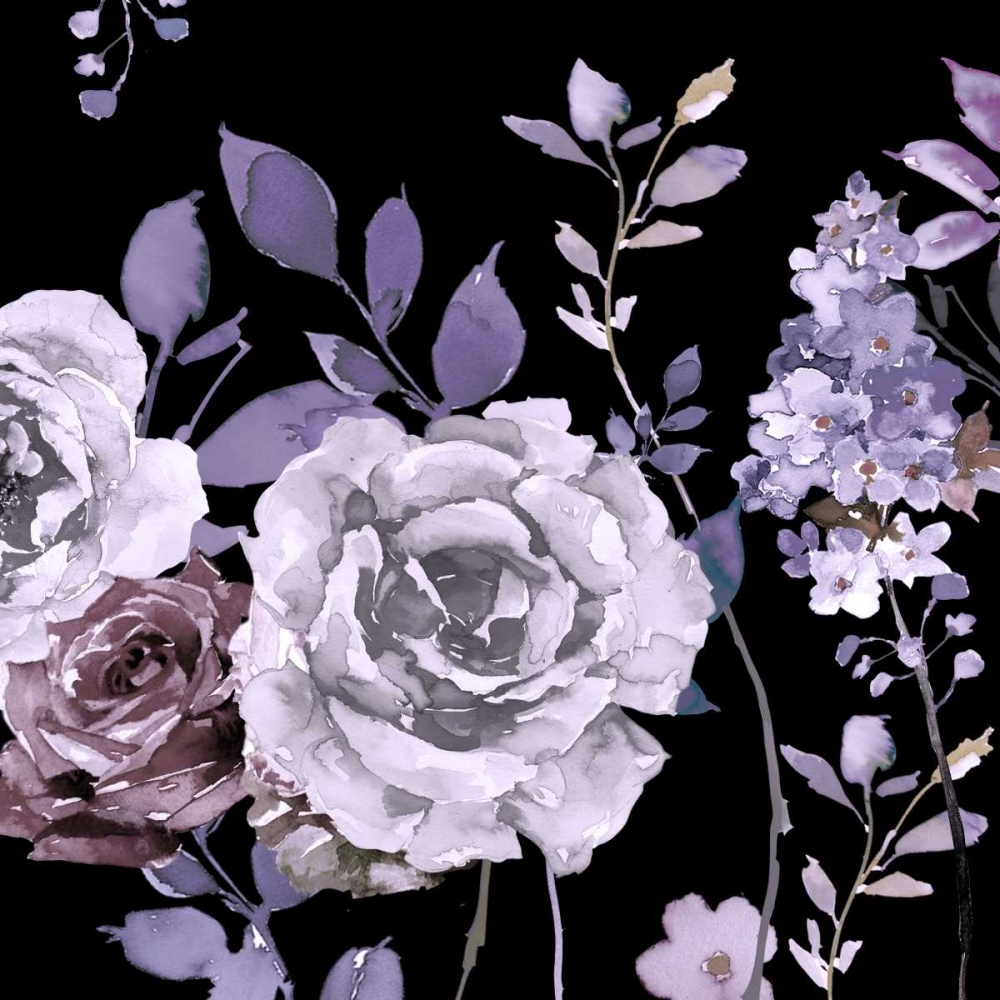 Vintage Rose and Budlia 2