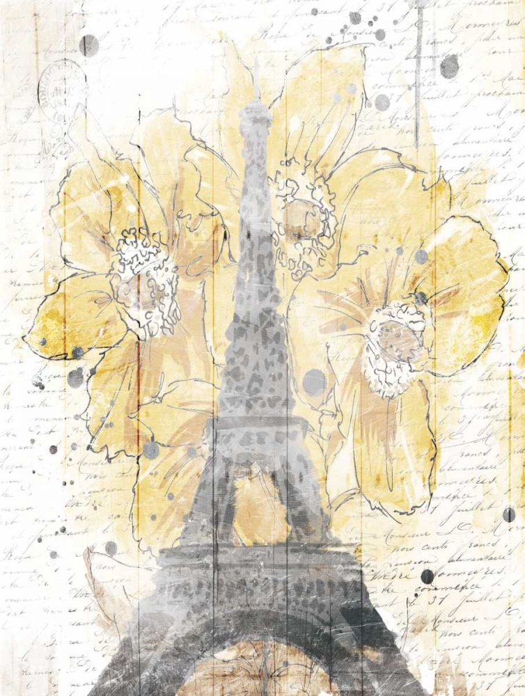 Eiffel Bloom Yellow