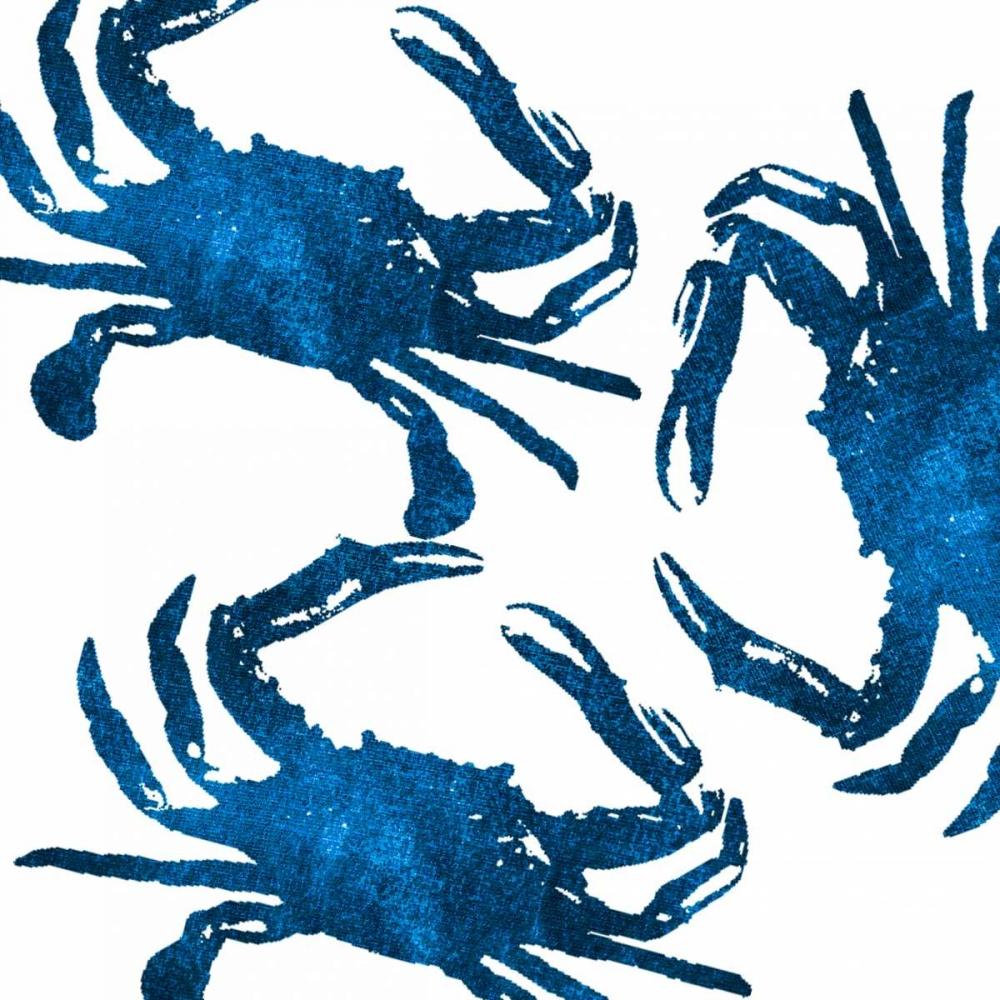 Navy Crab Collage
