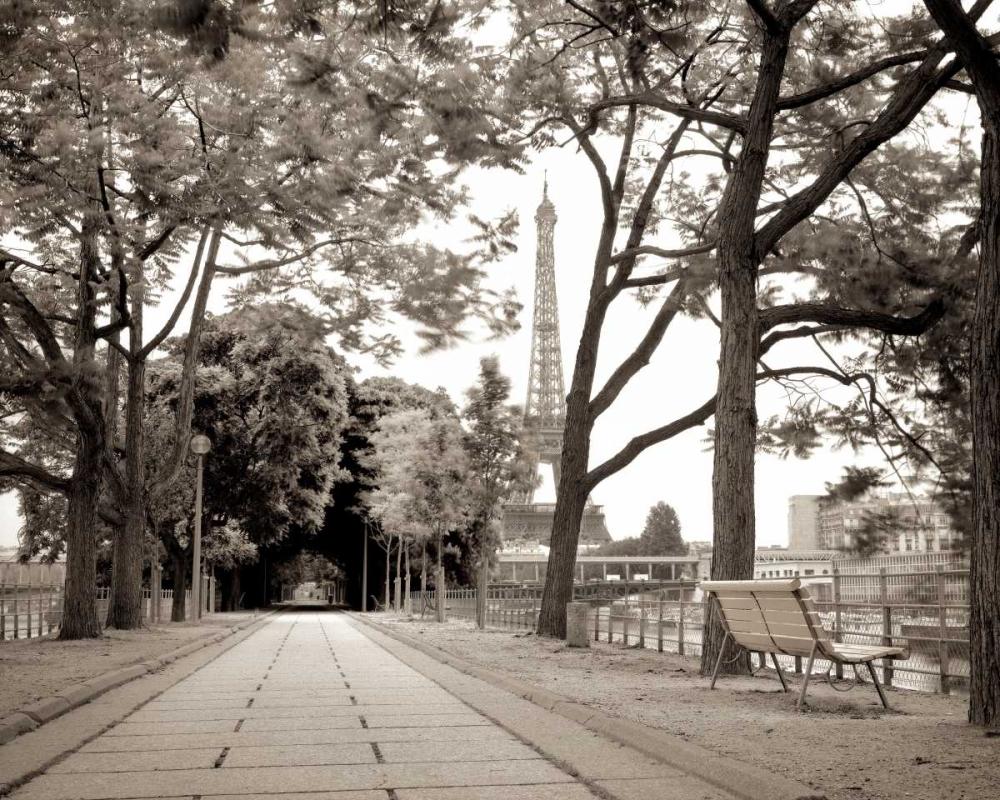 Promenade et Tour Eiffel - 1