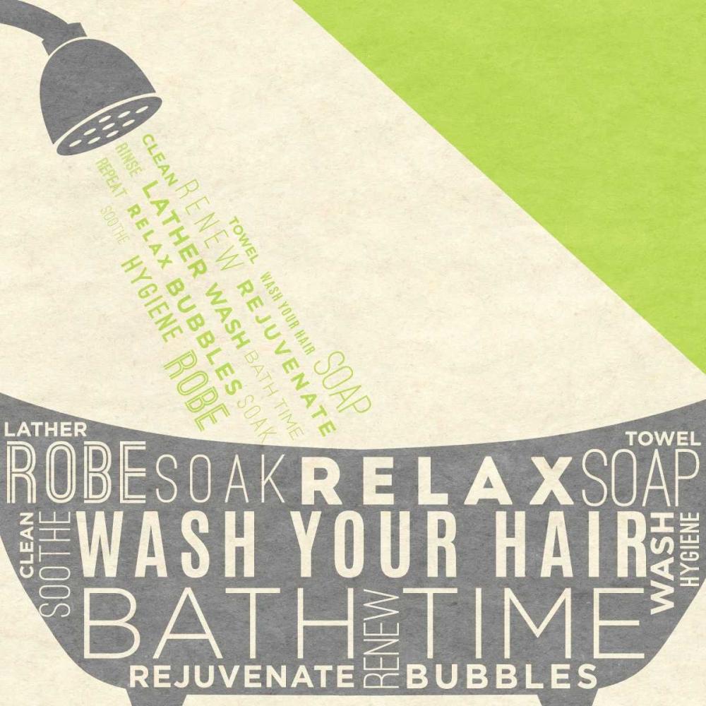 Lime Bath Time I