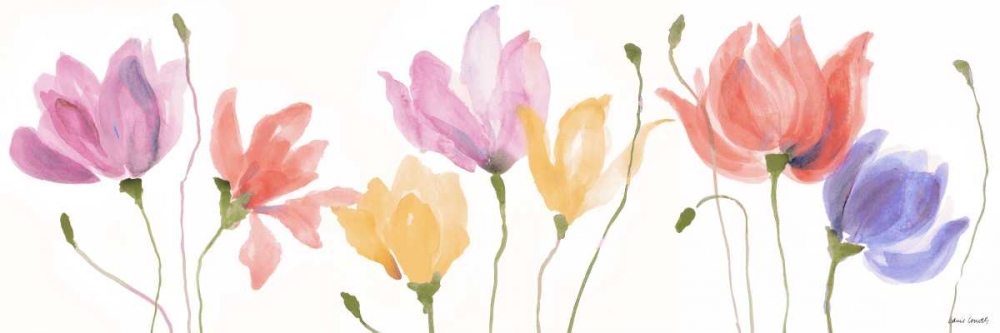 Colorful Floral Sway Panel