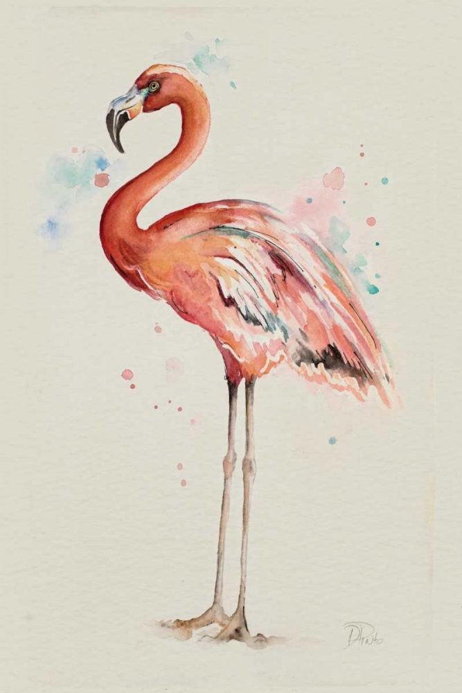 Flamingo in Shape