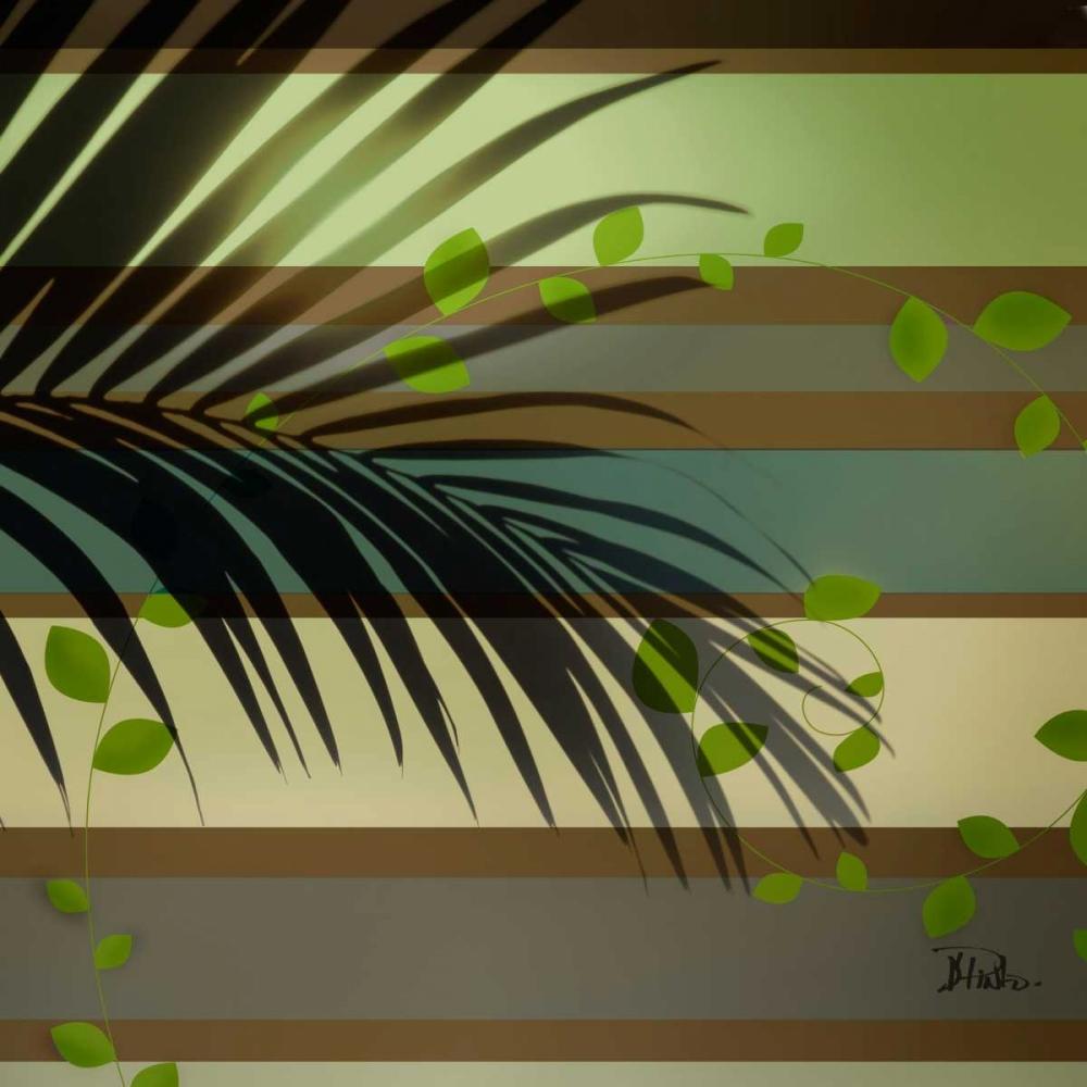 Palm and Stripes I