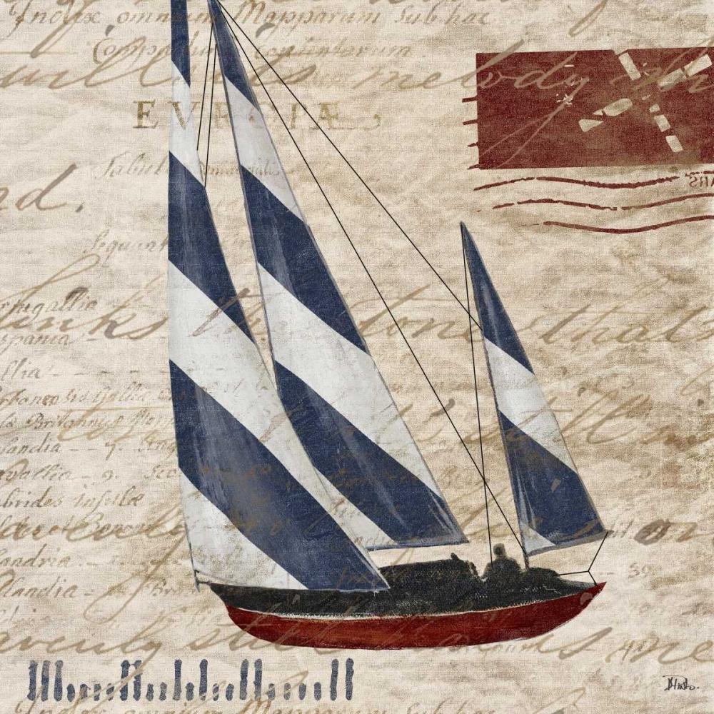 Sailing Stamp Border II