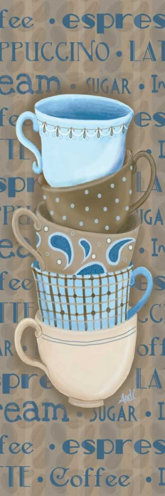 Coffee Cup Stack I