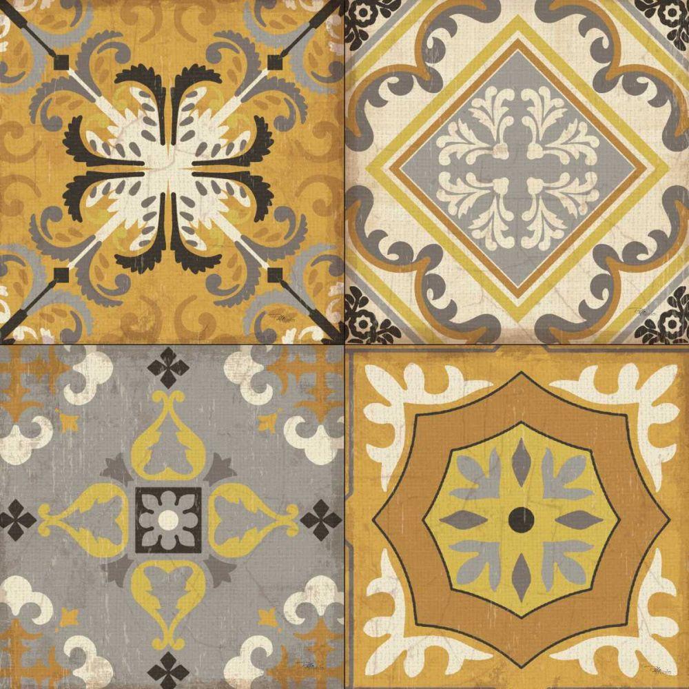 Golden Glow Tiles