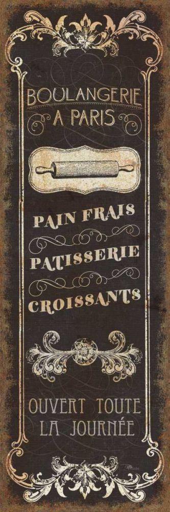 Parisian Signs Panel - I