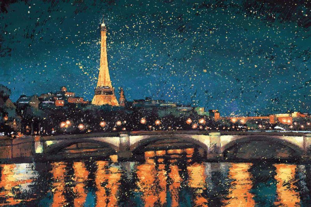 Paris Nights Blue I