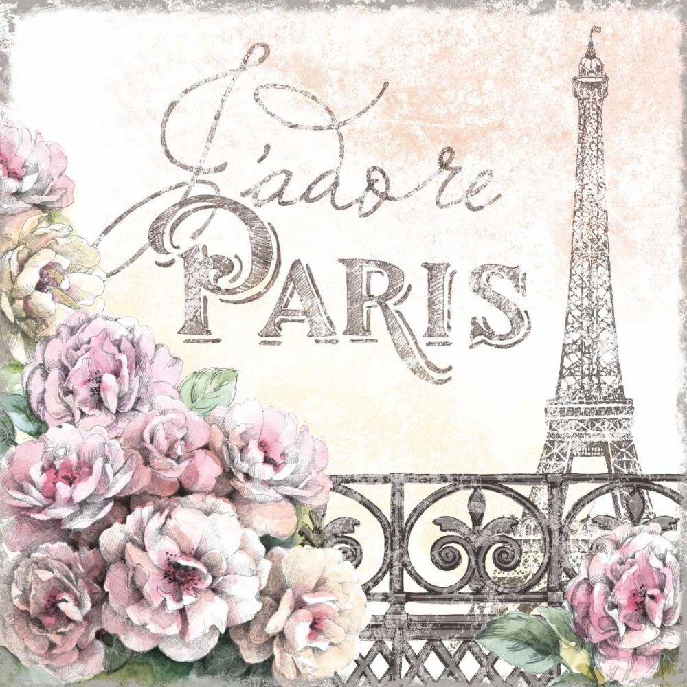 Paris Roses III