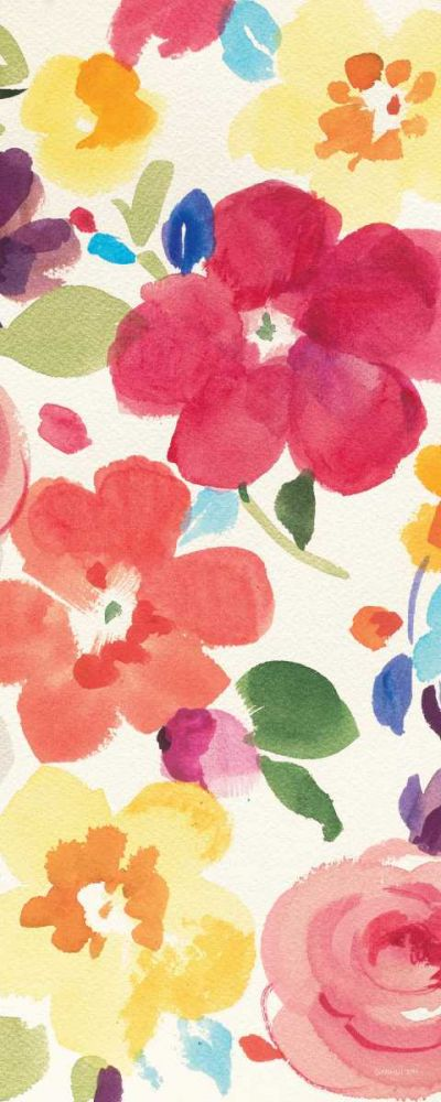 Popping Florals III