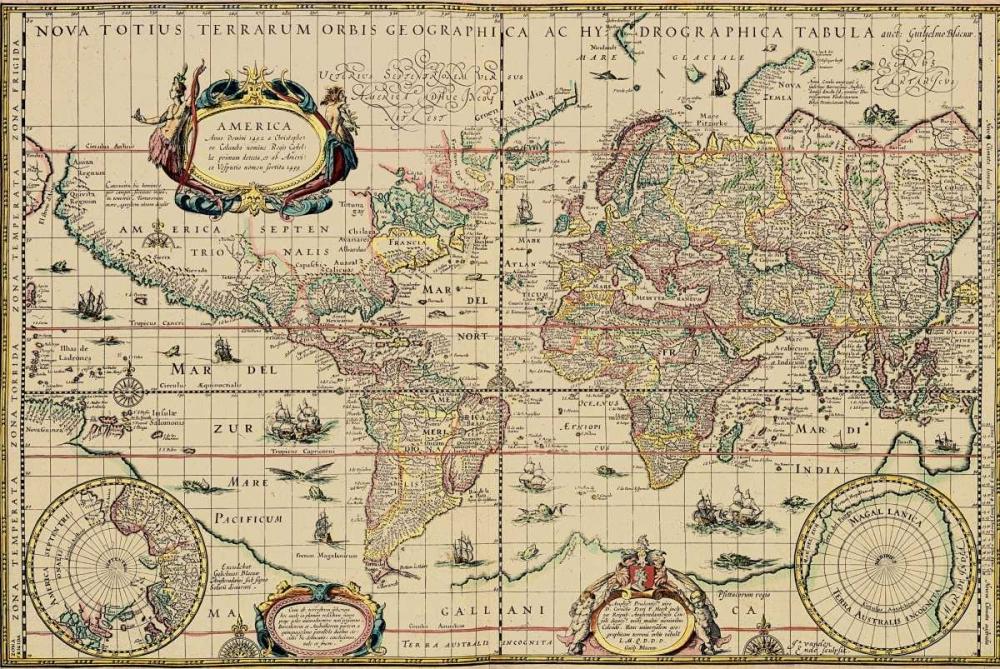 Explorers World 1630 Blau