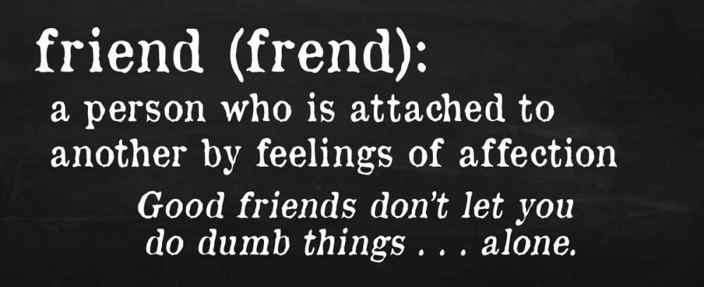 Friends Definition