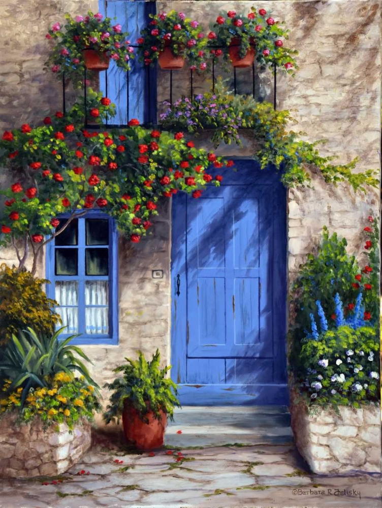 Barbara felisky works by the artist for Disegni cottage portico anteriore
