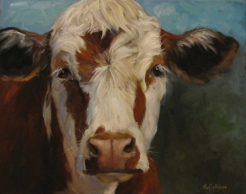 Pearl Cow Painting