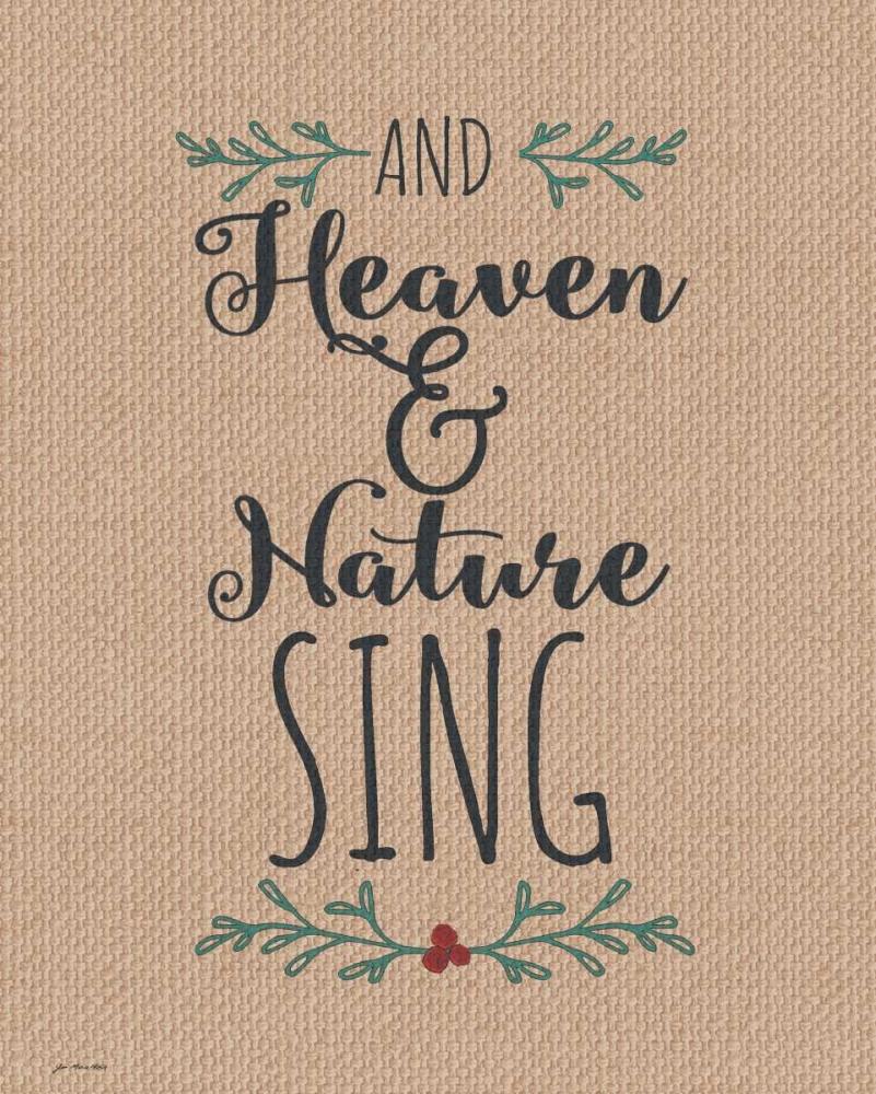 Burlap Heaven and Nature