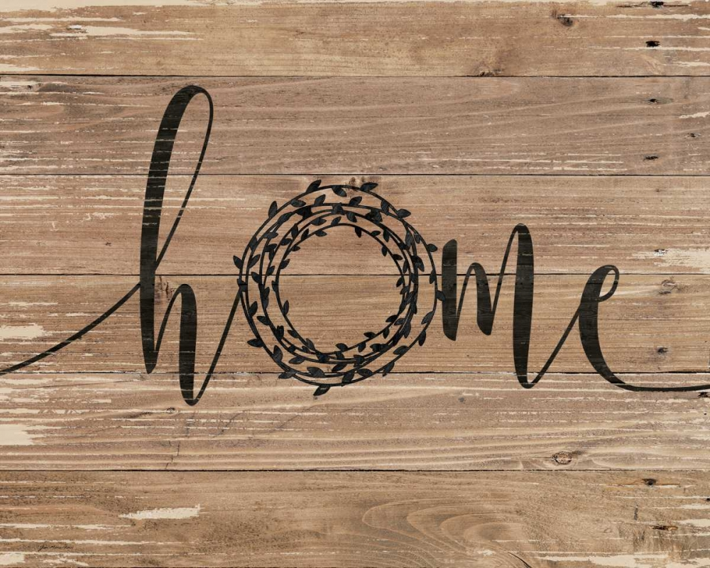Home Rustic Wreath