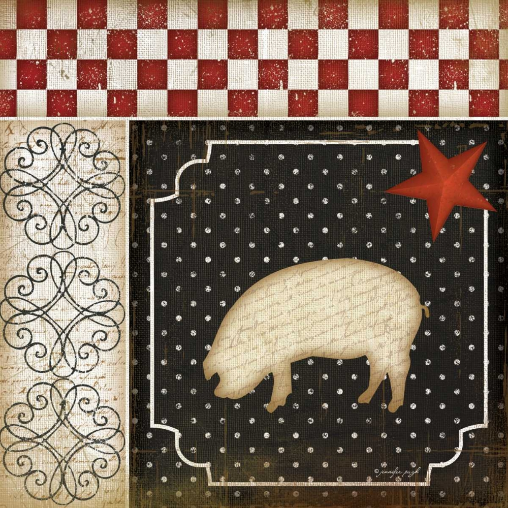 Country Kitchen - Pig