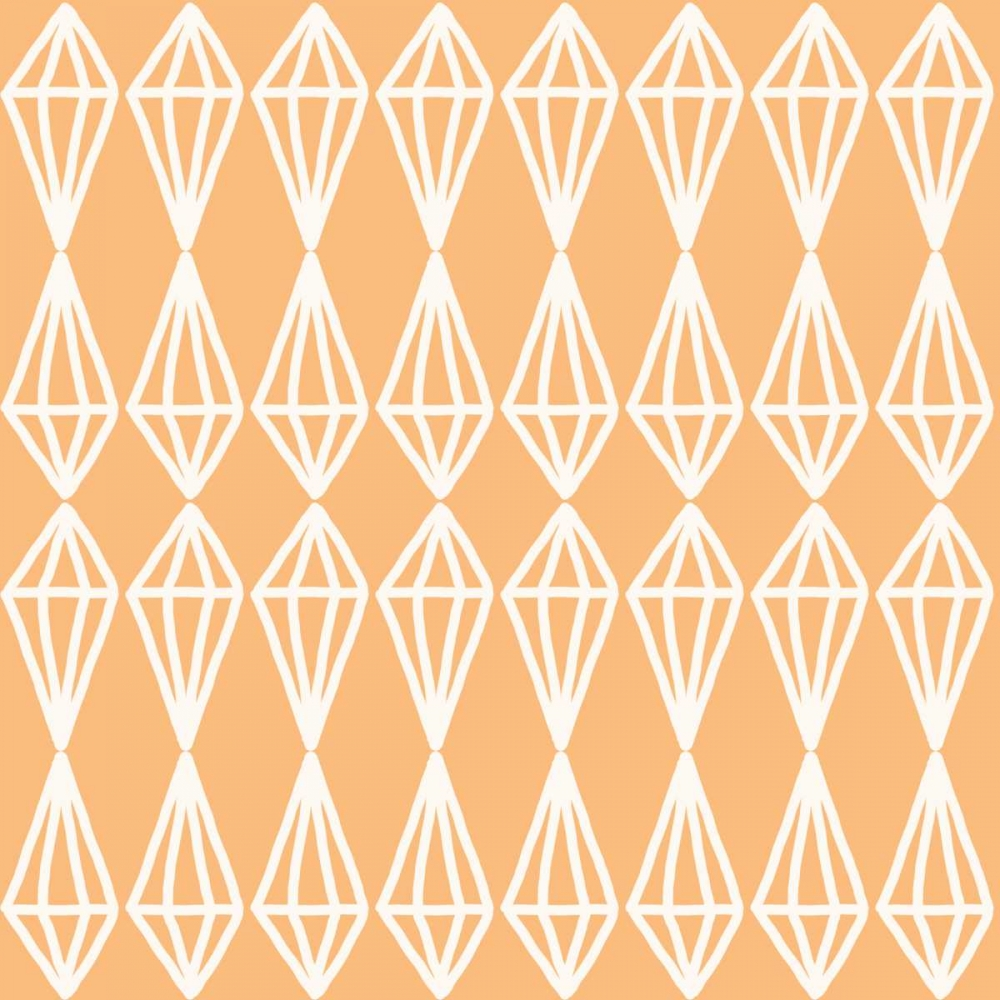 Diamonds - Coral White