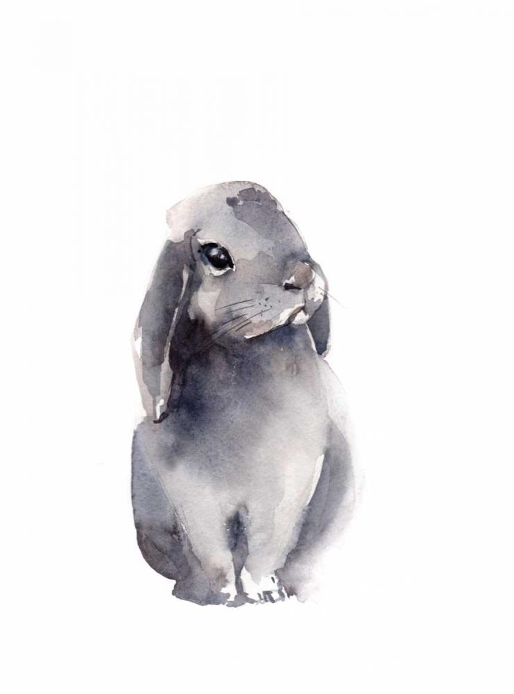Portrait of a Rabbit IV