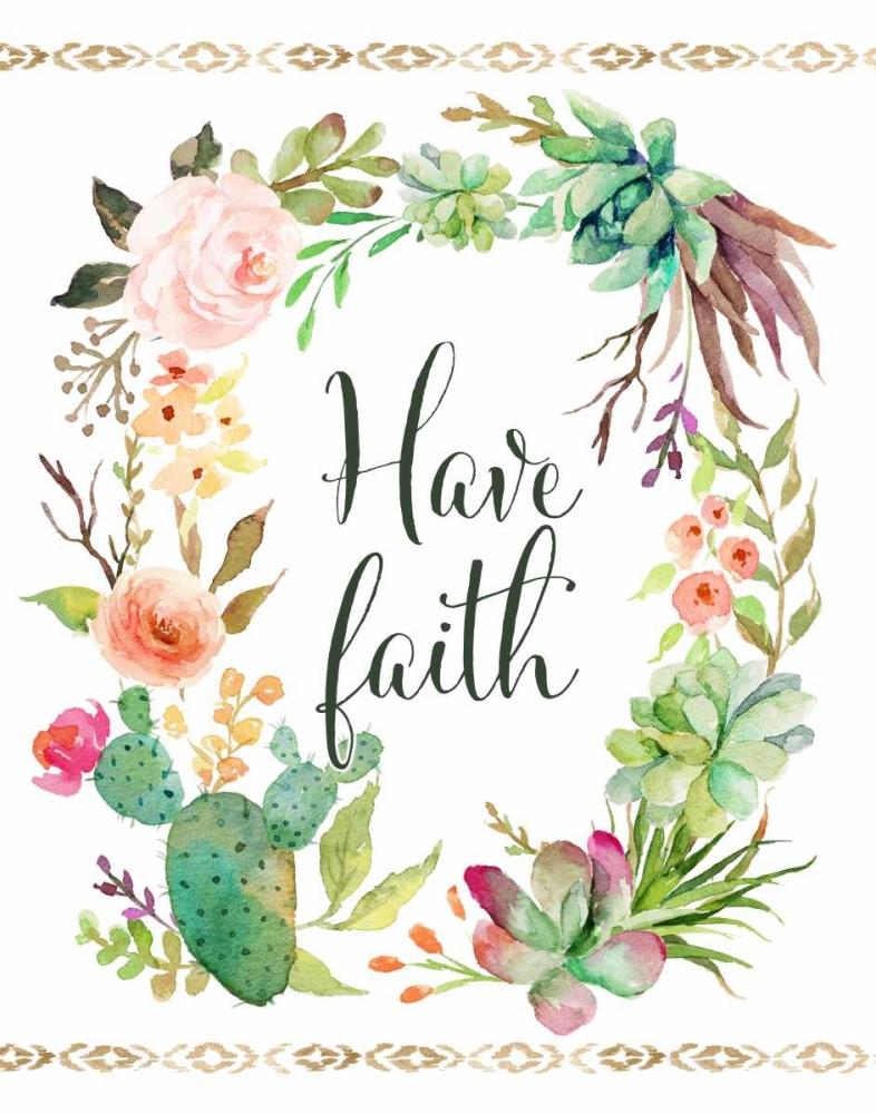 Have Faith Wreath