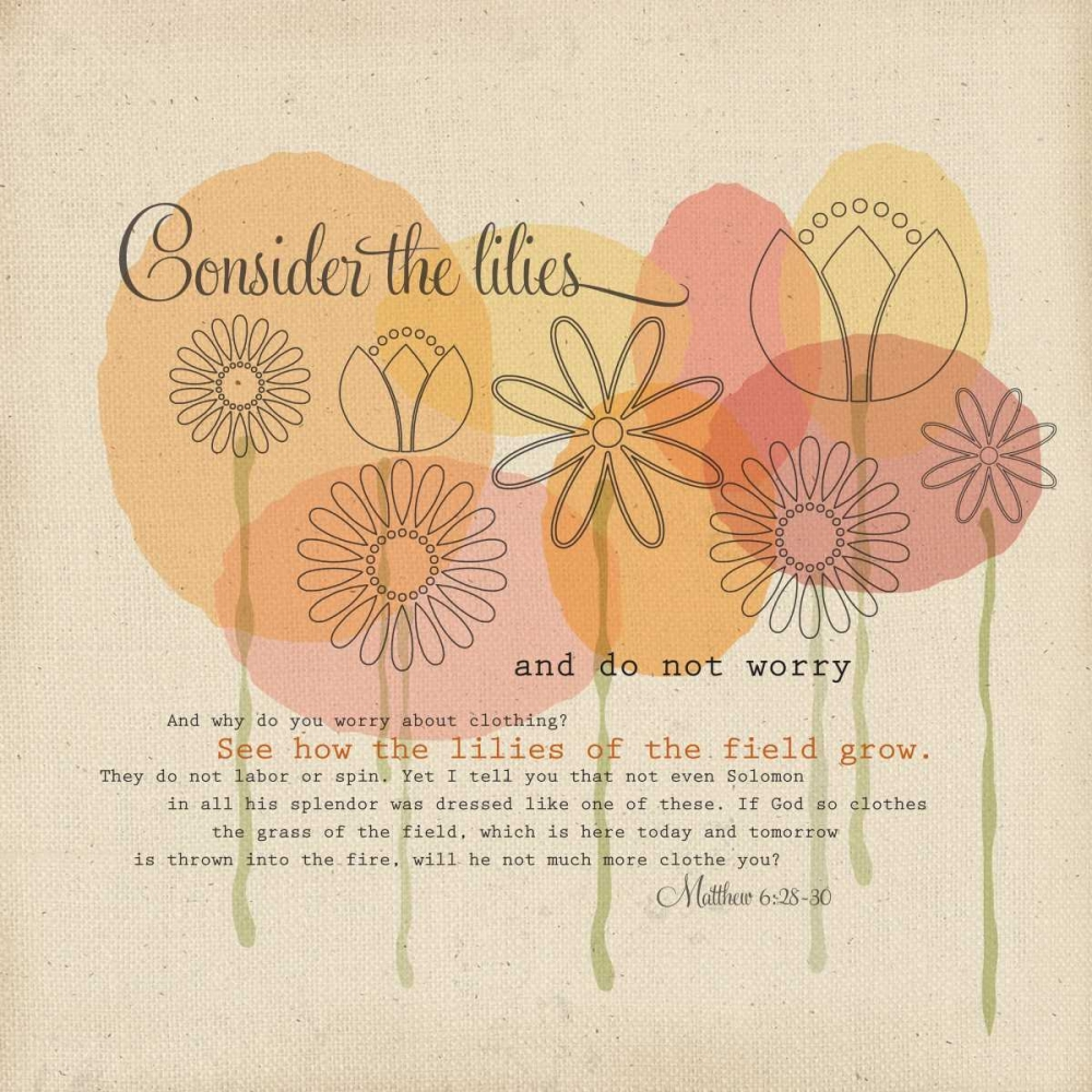 Consider the Flowers