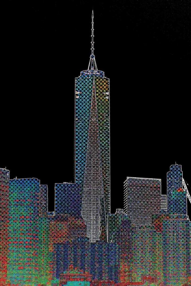 New York Neon Style