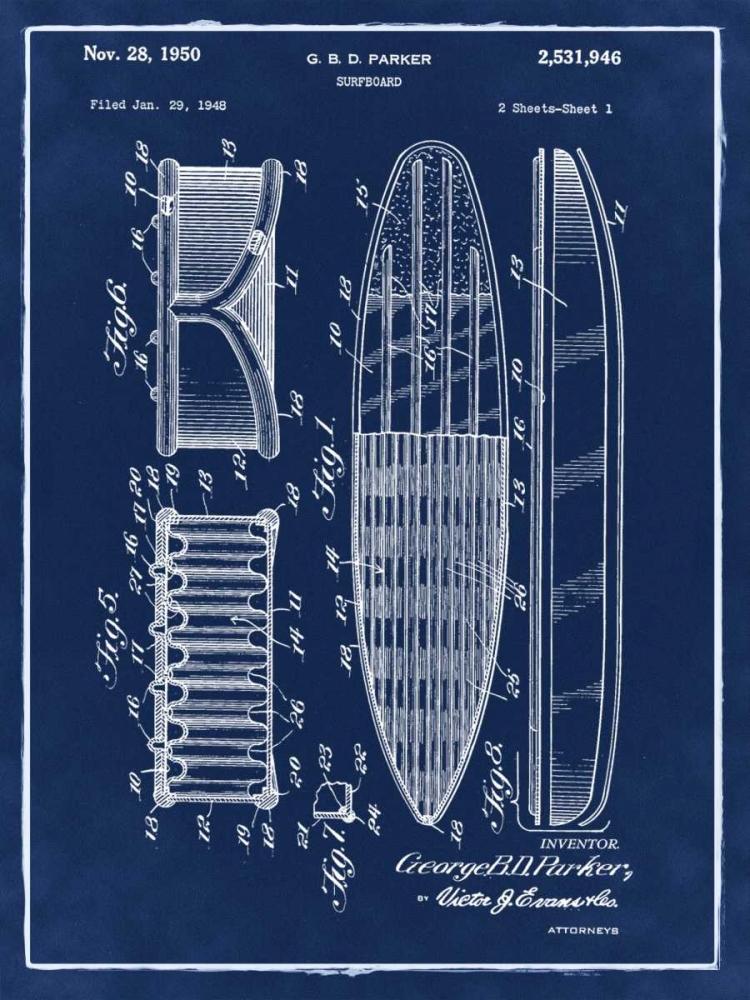 Surfboard - 1948-Blue II